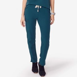 Caribbean Blue Figs Women's Regular Yola Pants